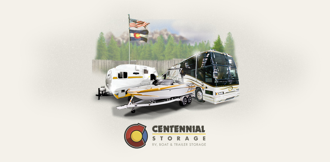 Centennial Storage | Logo Design + Branding | Denver, CO