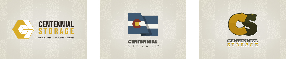 Centennial Storage | Logo Design | Denver, CO