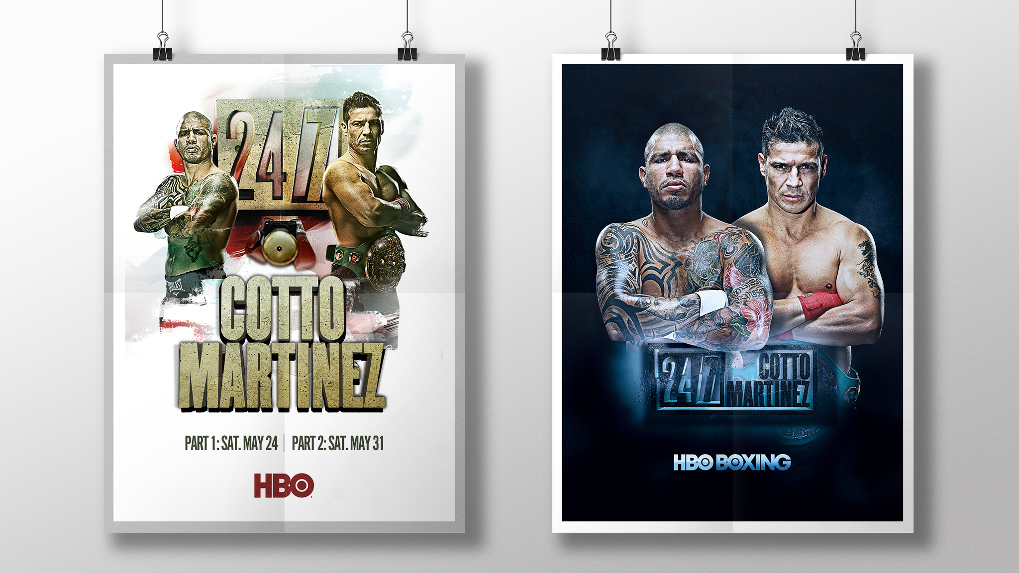 HBO Fight Poster