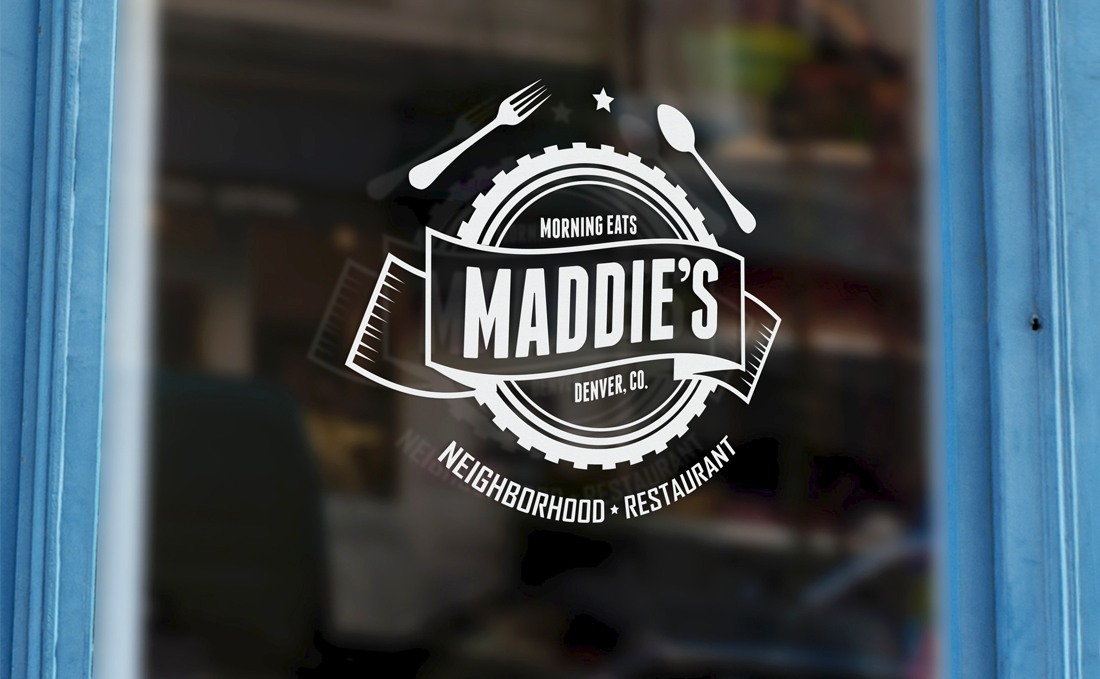 Maddie's Restaurant - Final Logo Design, Englewood, CO