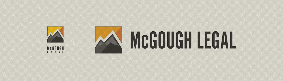 McGough Legal   Branding + Logo Design   Denver, CO