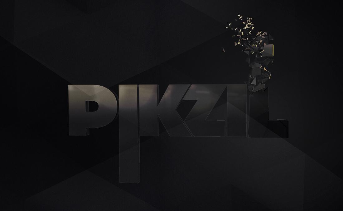 piKziL - 3D Logo Rendering