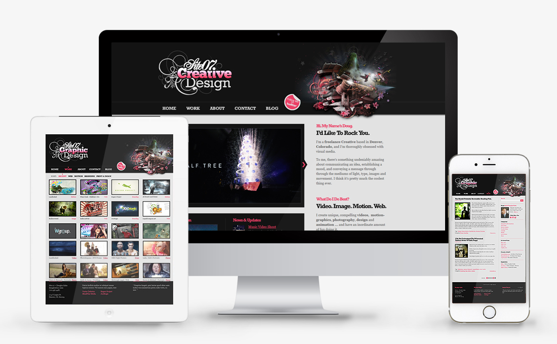 Site07 Creative | Web Design + Graphics | Denver, CO